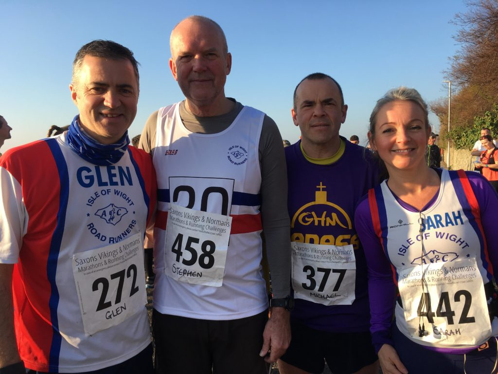 Isle of Wight Road Runners on Tour