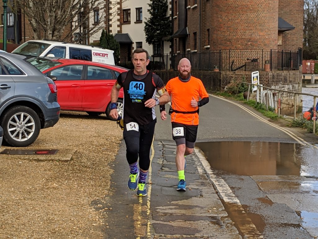2 West Wight runners returning to base